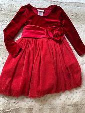 Bonnie Jean Christmas dress size 4T
