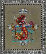 """COMPLETE XSTITCH KIT MATERIALS  """"GYPSY MERMAID MD126"""" by Mirabilia"""