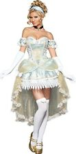 Sexy Adult Halloween InCharacter Passionate Princess Cinderella Costume Size S