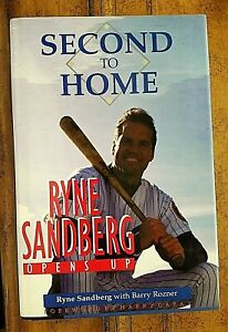 RYNE SANDBERG SIGNED - SECOND TO HOME - 1st ED/1st Prt HC/DJ FN/FN