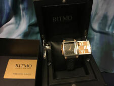 Ritmo Mundo Women's 511/4 Rose Gold Puzzle Slide Case Watch