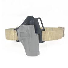 1pc Tactical Funda De Cintura Correa Plataforma Para Pistola De Caza Deportes Plataforma Negro