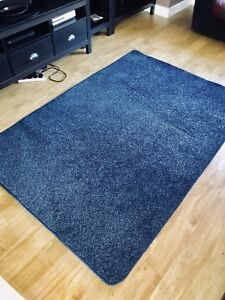 New VERY LARGE Rug Ocean Blue Pile Rug 3M X 2M (10FT X 6FT6)