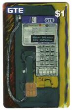 $1. Complimentary GTE Payphone (Chip Card) April 1998 Phone Card