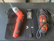 Black and decker pivot driver And 3 Speed Rotary Tool (corded). No charger