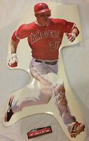 "MIKE TROUT #27 FATHEAD JUNIOR SIZE MLB wall graphic 31"" x 19"" LOS ANGELES ANGELS"