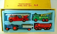 MATCHBOX Kingsize g-8 GIFTSET USA 1966 RARE BOX DI COLORE GIALLO