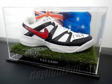 ✺Signed✺ PAT CASH Nike Tennis Shoe PROOF COA Australian Open 2017