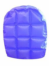 INFLATABLE BACK PACK BUBBLE 90'S ZIP UP ADJUSTABLE STRAPS PVC BLUE