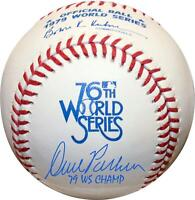 "Dave Parker Pittsburgh Pirates Signed 1979 WS Logo Baseball & ""79 WS Champ"" Insc"