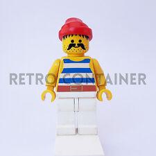 LEGO Minifigures - 1x pi073 - Pirate - Pirati Omino Minifig 6285 6235 6257 6286