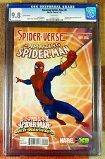 Amazing Spider-Man 9, Variant Cover, series 3, 2014, CGC 9.8, graded NM/MT