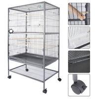 "Bird Cage 51"" play top Parrot Cockatiel Cockatoo Parakeet Finch Pet Supply Gym"