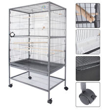 "Bird Cage 51"" play top Parrot Cockatiel Cockatoo Parakeet Finch Pet Supply Gym"