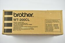 Brother Genuine Waste Toner Box WT-200CL - 3070CW DCP-9010CN HL-3040CN 9010CN