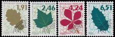 Préoblitérés 1994 Feuilles d'arbres  n° 232 à 235 neufs
