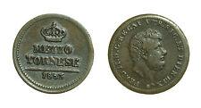 pci2619) Napoli Regno delle Due Sicilie Ferdinando II - 1/2 Tornese 1853