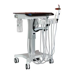 Greeloy Convenient Portable Dental Unit Movable Treatment Unit Cart GU-P302S TK