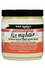 Aunt Jackie's flaxseed Fix My Hair Intensive Repair Conditioning Masque 15oz