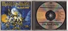 IRON MAIDEN: LIVE AFTER DEATH CD EMI HOLLAND IMPORT HEAVY METAL BRUCE DICKENSON