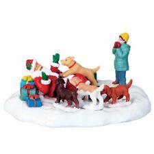 Lemax 63275 - Puppies Love Santa, Weihnachtsdörfer, Zubehör