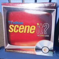 Scene It? TV Edition DVD Game 2004 NEW In Shrink Wrap