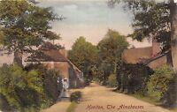POSTCARD   DEVON  HONITON  The  Almshouses    Circa  1906