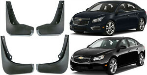 New Set Splash Guards Mud Flaps 95489815 Fit For 2009-2015 Chevrolet Cruze Sedan