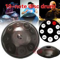 "22"" 10 Notes Professional Hand Pan Handpan Drum Handmade Good Sound New"