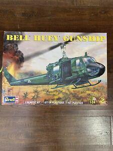 1/24 Revell  Bell Huey Gunship Open Box Sealed Bags