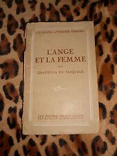 L'ANGE ET LA FEMME - Graziella de Pasquale - Marcel Daubin - 1946