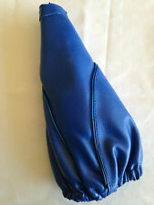 Apc Blue 12v Lighted Shift Boot Cover PVC Leather Universal Gear Shifter Manual