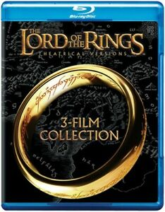 THE LORD OF THE RINGS TRILOGY 3 Blu Ray DVD SET WS 3 DISCS TOTAL BRAND NEW