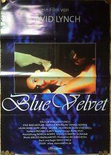 BLUE VELVET ORIGINAL THEATRICAL FILM POSTER DAVID LYNCH