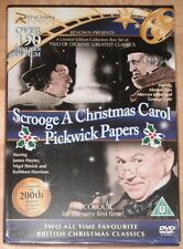 Dickens Classic Box Set Scrooge - A Christmas Carol & Pickwck Papers (DVD)
