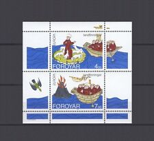 FAROE ISLANDS, EUROPA CEPT 1994, DISCOVERIES S/S,MNH