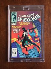 The Amazing Spider-Man #252 NM 9+ First Black Costume White Pages