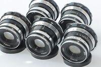 INDUSTAR 61 I-6  5 pcs. 2 8/ 52mm Zebra Russian Lens M39 Fed Zorki Olympus Lumix