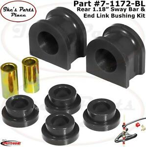 "Prothane 7-1172-BL Rear 1.18"" Sway Bar & End Link Bushing Kit 00-05 Sub/Tahoe"