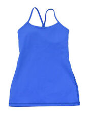 Lululemon Pipe Dream Blue Athletic Cottony-Soft Luon Power Y Tank 10 New