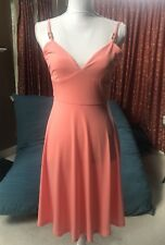 NWOT Women's Michael Kors Sundress Peach Size 2