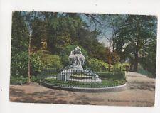 Duesseldorf Maerchenbrunnen im Hofgarten Germany 1928 Postcard 104b