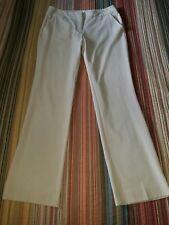 "New York & Company stretch dress pants size 8 ivory, cream 32"" inseam"