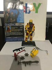 2014 50th GI Joe BLOWTORCH (v4) 100% complete with File Card