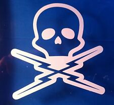 Death Proof Grindhouse rockabilly rat rod Vinyl Decal Sticker  LOT OF 2 decals