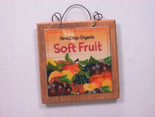 Dollhouse Miniature Garden Sign Artist Hand Made by Marie's Mini Shoppe  #MP09