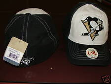Pittsburgh Penguins 2010 OOB Slouch Hat Cap S/M NHL NWT