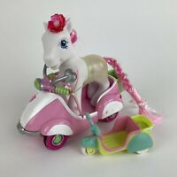 My Little Pony Hasbro 2005 G3 Light Up Doll & Pawtucket Pull Back & Go Scooter