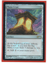 MTG Mana Crypt Judge Promo FOIL DCI Promotional Card Magic the Gathering MP