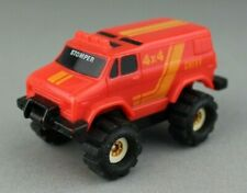 Vintage 1986 McDonald's Schaper Stomper Chevy Van 4x4 Red Big Wheels